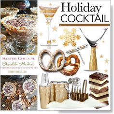 Holiday Cocktails * Martini II by calamity-jane-always on Polyvore featuring interior, interiors, interior design, home, home decor, interior decorating, Godinger, Fitz & Floyd, Marc Blackwell and Julia Knight