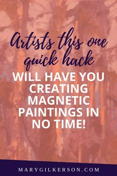 Who else wants to create magnetic paintings that call out to viewers with their interesting compositions, vivid colors, strong contrast, and inspiring sense of light?! Artists, click through to get these inspirational art tips before creating your next artwork!