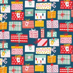 Ideas For Christmas Wallpaper Pattern Colour Christmas Love, Christmas Design, Christmas Projects, All Things Christmas, Christmas Themes, Vintage Christmas, Christmas Holidays, Christmas Illustration, Winter Illustration