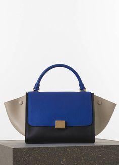 C¨¦line Medium Classic Handbag in Red Box Calfskin | B A G S ...