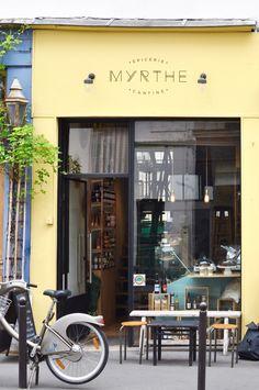 Myrthe, Paris