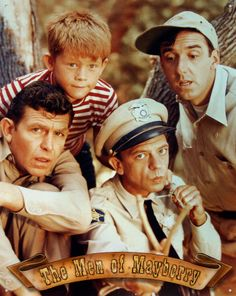 Andy Griffith. Starring Andy Griffith, Don Knots, Jim Nabors and Ron Howard.