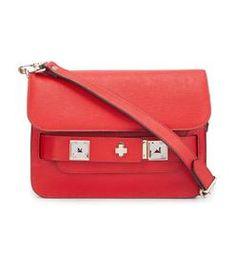 Proenza Schouler: Red Mini 'PS11' Bag