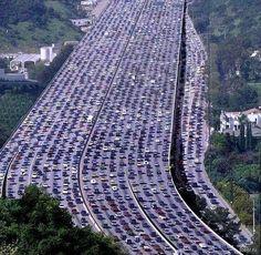 L.A traffic @Becky Baumann