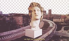 005 we fight our insignificance #westberlin #vaporwave #gif #aesthetics