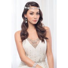 'Samuela' Diamonte Antique Setting - Bridal Headband – Roman & French - Leader in Bridal Jewellery, Wedding Hair Accessories, Bridesmaids Dresses and Wedding Gifts. Bridal Looks, Bridal Style, Bridesmaid Dresses, Bridesmaids, Wedding Dresses, Bohemian Bride, Wedding Headband, Wedding Hair Accessories, Bridal Headpieces