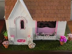 This is the same kit that My Mom and I have. Sugar Plum Cottage.