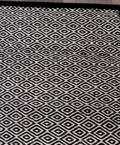 Masai Weave in White/Black Armadillo, Terrace, Floors, Weave, Beach House, Corner, Rugs, Winter, Black