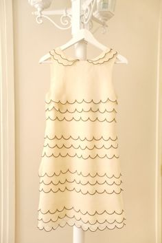 Ted Baker scalloped dress/Love sweet dresses like this; Dresses Dresses, Nice Dresses, Short Dresses, Scalloped Dress, Scallops, Classy And Fabulous, Playing Dress Up, Fashion Outfits, Womens Fashion