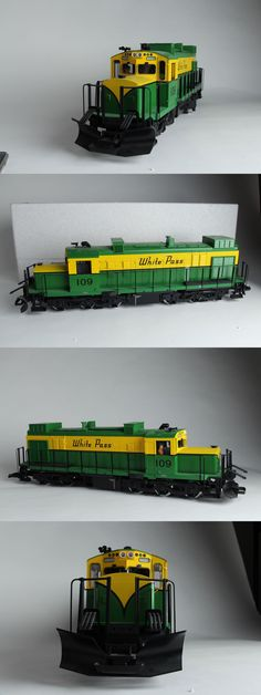 Passenger Cars 122575: Lgb 22552 - White Pass And Yukon Route Diesel Loco W Sound (New, Never Ran, Nib) -> BUY IT NOW ONLY: $959.99 on eBay!