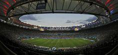 Argentina y Alemania juegan el alargue en la final Brasil 2014.
