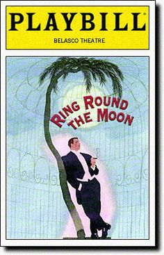 Playbill Cover for Ring Round the Moon at Belasco Theatre - Opening Night, 1999