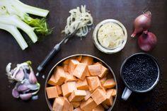 lentil & sweet potato stew