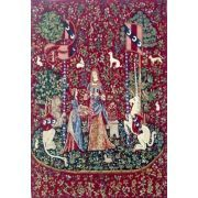 Smell, Lady and the Unicorn Belgian Wall Tapestry http://www.homedecortapestries.com/smell-lady-and-the-unicorn-belgian-wall-tapestry