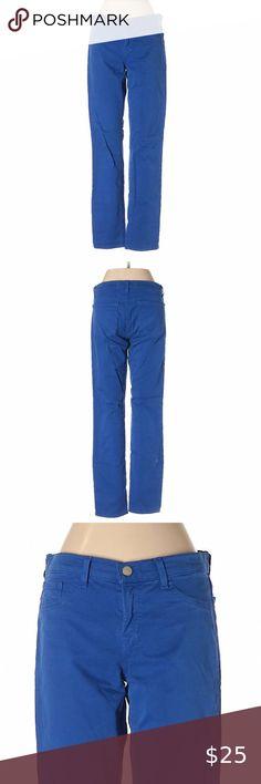 MET in Jeans BIDYS//P Eco-leather Slim fit trousers pants low waist in Red