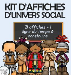 Browse over 40 educational resources created by Valise du prof in the official Teachers Pay Teachers store. Cycle 2, Social Science, Social Studies, Elementary Schools, Kit, Homeschool, Teacher, Canada, Chefs