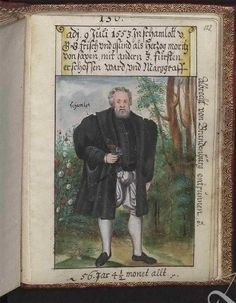 Author, Schwarz, Matthäus, Title: Trachtenbuch des Matthaus Schwarz aus Augsburg Date: 1520-1560