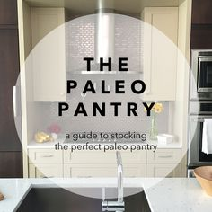 I strongly believe the best way to kick-off your paleo lifestyle is to do a pantry purge. Cleaning out your pantry prior to going paleo can be a little daunting, but I promise that it is well worth...