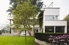"""Sonnenfeld Haus in Rotterdam.  Es wird als Anschauungsobjekt genutzt und dient als 1:1 Modell, um den Besuchern zu zeigen, wie ein Architekturkonzept (""""Licht, Luft und Raum"""") seine Umsetzung in einem Gebäude findet."""