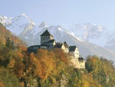Liechtenstein... didnt spend long here, but remember the castle... was winter when we were there.