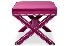 Palmer Ottoman, Orchid | One Kings Lane