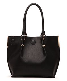 Another great find on #zulily! Black Antoinette Shoulder Bag by MKF Collection #zulilyfinds