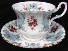 Royal Albert Love Story Series Patricia Tea Cup and Saucer | eBay