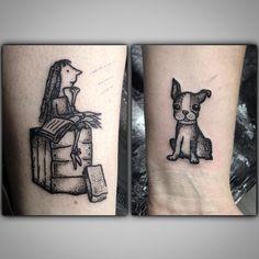 This Matilda tattoo is perfect