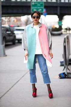 Keep up with all the best street style outfits from outside New York Fashion Week here: