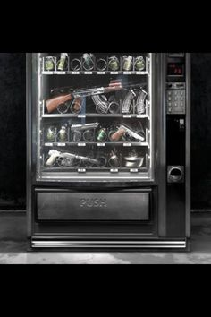 I need one of these Gun Vending Machine