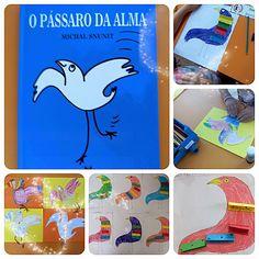 Pássaro da Alma Feelings Activities, Preschool, Reading, Livros, Projects