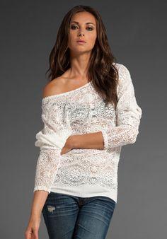 love loose sweaters!