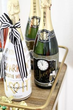 Champagne Details: AMarriedAdventure.com