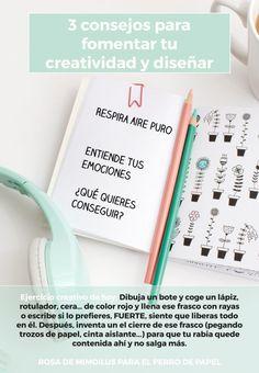 3 consejos para fomentar tu creatividad y diseñar