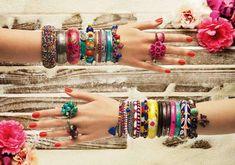 Accesorios y Complementos para un look hippie chic y colorido