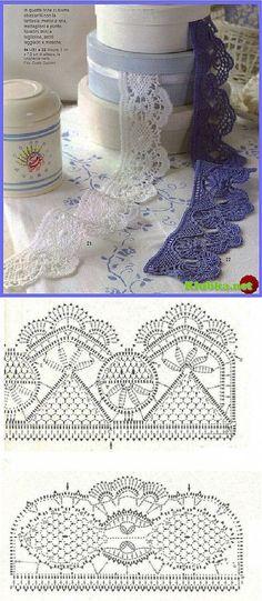 "Crochet bordo ""Klubka.Net - Tutto su uncinetto"