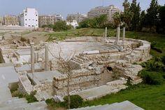 """Teatro Romano"". # Alexandria, Egito."