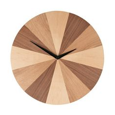 Combine function and style with our favourite wall clocks plus other decorating ideas from Red Online. Wall Clock Wooden, Wood Clocks, Antique Clocks, Clock Wall, Deco Tv, Objet Deco Design, M And S Home, Best Wall Clocks, Clock Shop