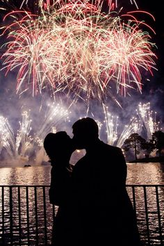Epcot's Illuminations fireworks.