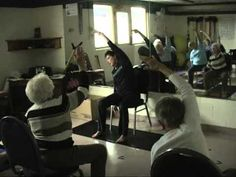 """Julie Williams, Chair Yoga, enrolled in """"The Art & Science of Teaching Yoga to Cancer Patients"""" at YogaBeing.net"""