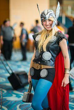Lady Thor | Long Beach Comic & Horror Con 2013