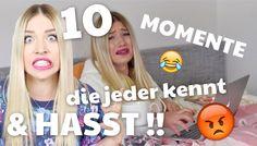 10 MOMENTE die jeder kennt & HASST ! ♥ BibisBeautyPalace