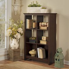 "Buena Vista 48"" 6 Cube Unit Bookcase"