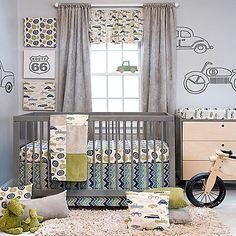 Glenna Jean Uptown Traffic Crib Bedding Collection