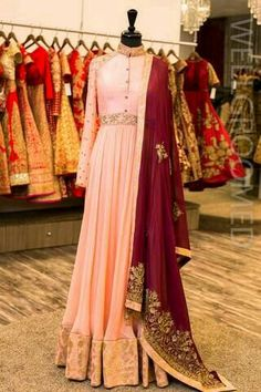 Details about Traditional Diwali Long Outfit Royal Anarkali Dress Heavy Embroidery DUpatta Indian Gowns, Indian Attire, Indian Wear, White Anarkali, Anarkali Gown, Pakistani Outfits, Indian Outfits, Look Short, Indian Couture