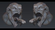 Monsterhead by overmind81 on DeviantArt