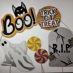 Items similar to Halloween Photo Booth Party Props Mustache on a stick with witches Rip Tombstone Boo Trick or Treat Sign Ghost Mummy where woof on Etsy Halloween Photo Booth Props, Photo Booth Party Props, Halloween Photos, Rip Tombstone, Mustache, Trick Or Treat, One Pic, Witches, Party Ideas