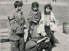 Gypsy Children in Warsaw.  Gypsies were another group targeted by the Nazis.