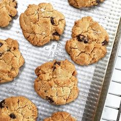Chocolate chip cookies con sal