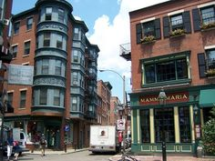 The North End - better known as Little Italy - in Boston is a slice of Europe. (The North End is not better known as Little Italy. Boston North End, In Boston, Boston Weekend, Visit Boston, Great Places, Places To See, Beautiful Places, Boston Architecture, Boston Travel